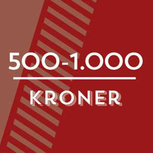 Billede til varegruppe Kr. 500 - 1000