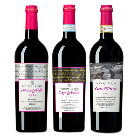 Billede af Podere Le Ripi Smagekasse m. 3 forskellige vine